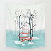 spirit Wall Tapestries featuring Forest Spirit by Freeminds