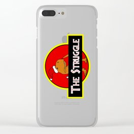 The Struggle Park (Merry Christmas) Clear iPhone Case
