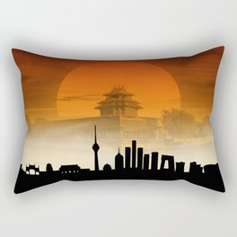 Beijing Rectangular Pillow