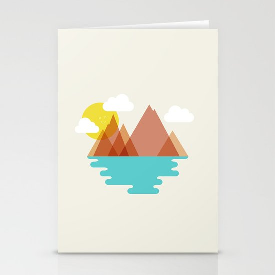August Stationery Cards