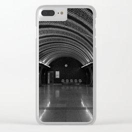 Curvy metro Clear iPhone Case