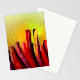Twins - Marcello Cicchini Stationery Cards