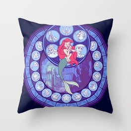 Arial Throw Pillow
