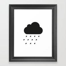 PAUSE – Bullet Storm Framed Art Print
