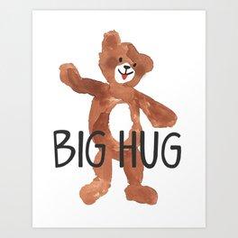 Big Hug Art Print