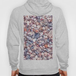 Sand and stones on the beach Hoody