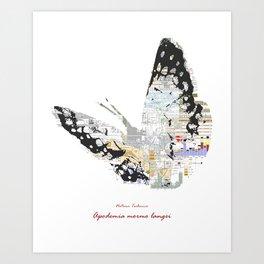 Natura Technica - Lange's Metalmark Art Print