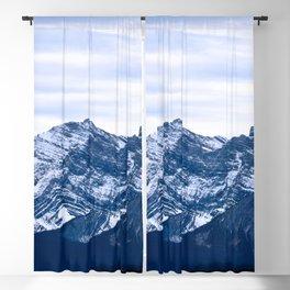 Rocky Mountain Blue  Blackout Curtain