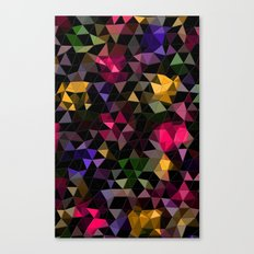 Shatter into color Canvas Print