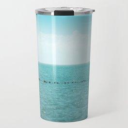 Landscape photo - black sea Travel Mug
