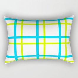 Summer Plaid III Rectangular Pillow