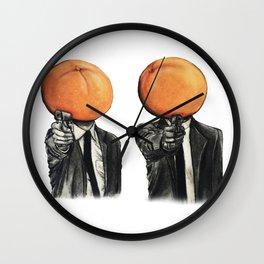 Pulp Heads No.2 Wall Clock