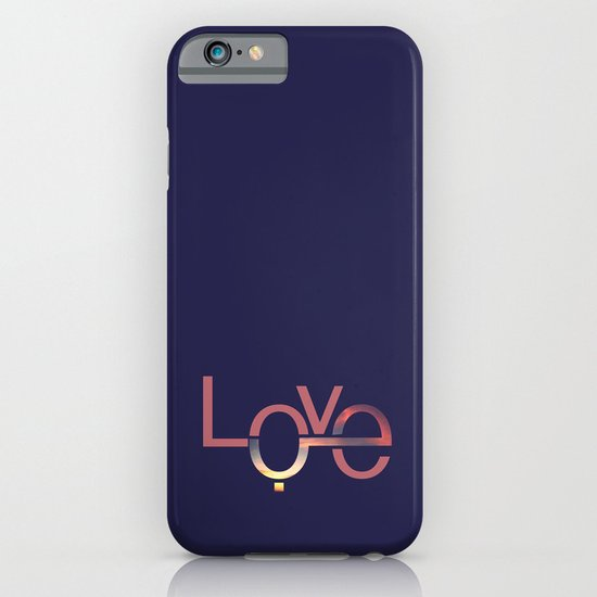 Love in English and Arabic iPhone & iPod Case