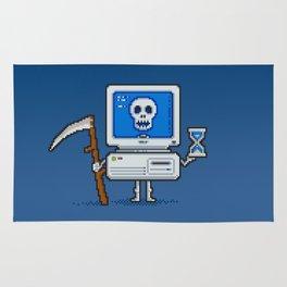 Blue Screen of Death Rug