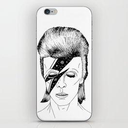 M. BOWIE iPhone Skin