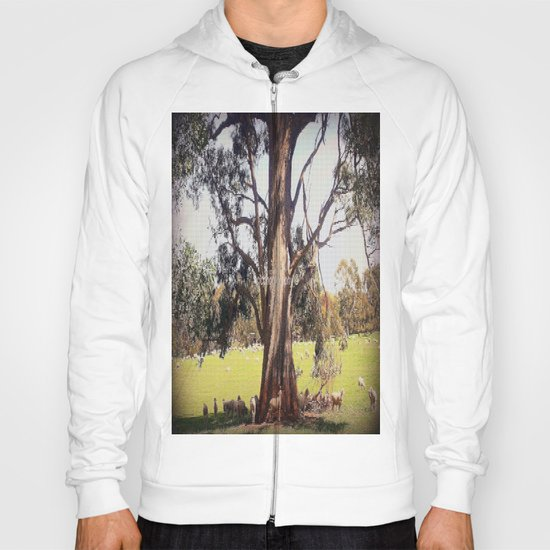 Under the shade of a coolabah Tree Hoody