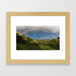 So, It Rained Today... Framed Art Print