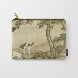 Shen Nan Pin - Album Of Birds And Animals (Cats) Carry-All Pouch