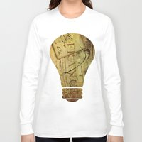 france Long Sleeve T-shirts featuring I ♥ France by Irène Sneddon