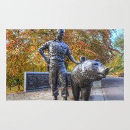Wojtek The Soldier Bear Memorial Edinburgh Rug