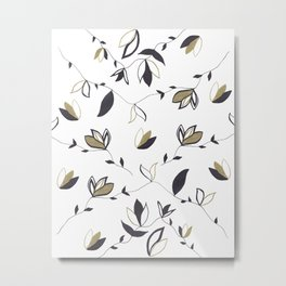 Tree Of Life - Floral & Foliage Pattern #1 #drawing #decor #art #society6 Metal Print