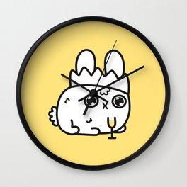New Year bunny Wall Clock