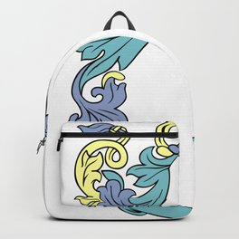 Abstract frame Backpack