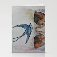sparrow Stationery Cards featuring Sparrow by Michael Creese