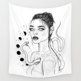 Serpentine Heart Wall Tapestry