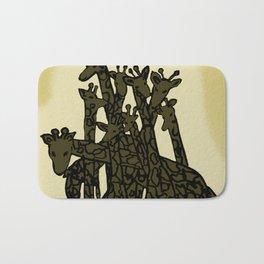 Zen Tangled Giraffe Bath Mat