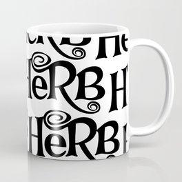 Herb pattern Coffee Mug