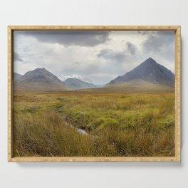 Glencoe, Scottish Highlands Serving Tray