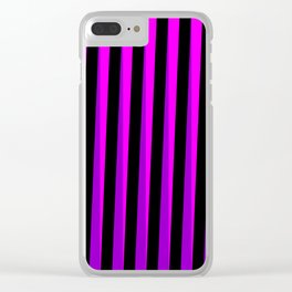 Violeta Cinético Clear iPhone Case