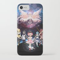madoka iPhone & iPod Cases featuring Madoka Magica by Yiji