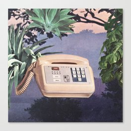 Late Nite Phone Talks Canvas Print