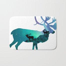 Northern Lights Elk Bath Mat