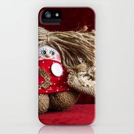Russian gnome. iPhone Case