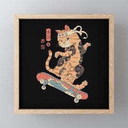 Skatana Framed Mini Art Print