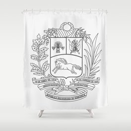 Escudo Venezuela - Trinchera Creativa Shower Curtain
