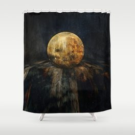 Planetary Soul Hyperion Shower Curtain