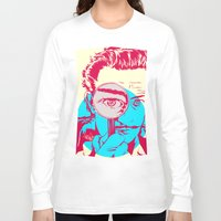 dali Long Sleeve T-shirts featuring Dali   by Vee Ladwa