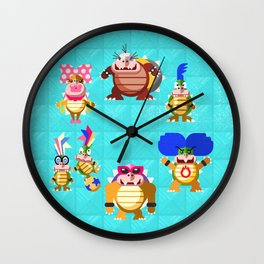 Koopalings! Wall Clock