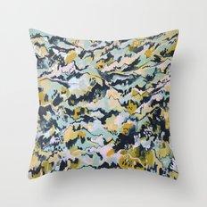 Alien Landscape #1 Throw Pillow