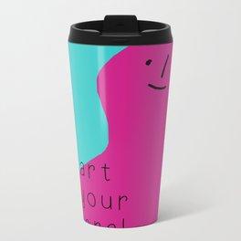 I fart in your general direction. Metal Travel Mug