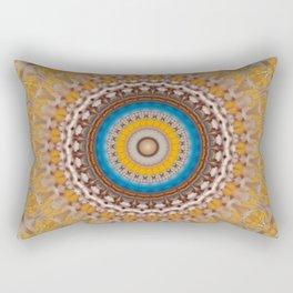 New Color Pyramidal Mandala 51 Rectangular Pillow