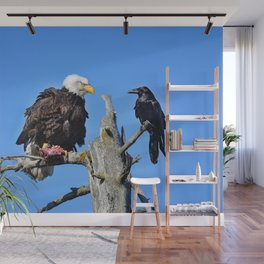 Avian Showdown Wall Mural
