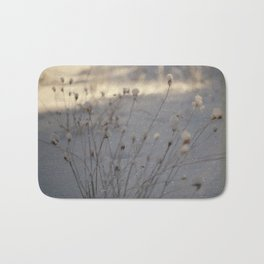 winter dust Bath Mat