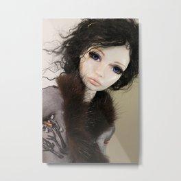 Once Upon A Doll Metal Print