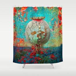 opium field Shower Curtain