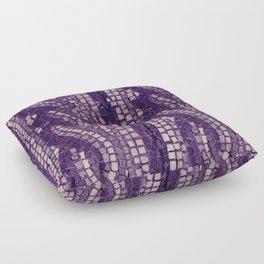 stone tile 4378 ultra violet Floor Pillow